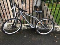 Carrera Vulcan mountain bike with D lock included.