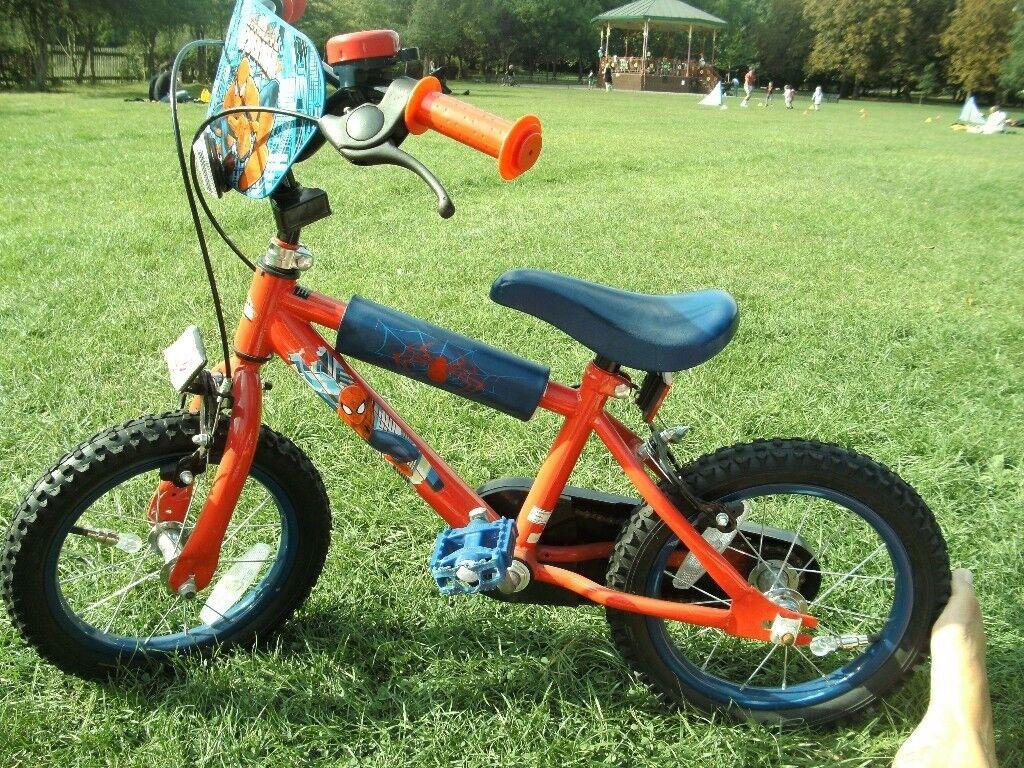 14 Inch Spiderman bike