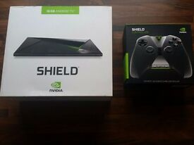 Nvidia sheild android TV box with extra controller. Probably one of the best 4k boxes available.