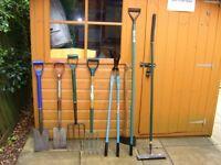 Various Gardens Tools