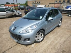 PEUGEOT 207 - EK60PTX - DIRECT FROM INS CO