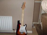 3/4 Beginner electric guitar