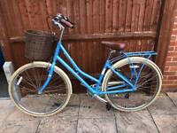 17 inch Pendleton Somerby blue lady's bike