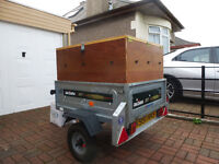 CAMPING TRAILER (LOCKABLE HARDTOP BOX ONLY)