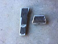 Genuine AC Schnitzer Pedals for BMW E88 Automatic