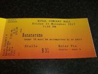 Bananarama ticket nottingham royal concert hall nov 24th