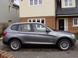 BMW X3 F25 2.0 Diesel SE X Drive 4x4. 2011. Excellent condition. Long MOT