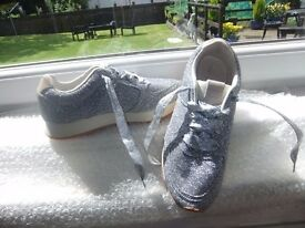 Zara Sparkly Trainers Size 4 Perfect Condition