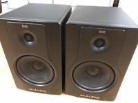 "M Audio BX8 d2 8"" Monitor Speaker pair 130W"