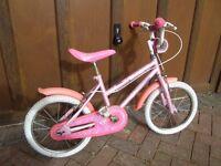 "Child bike - 16"" wheels"