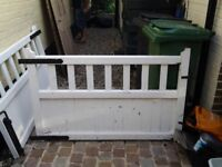 Wooden gates for front garden/drive
