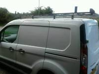 FORD TRANSIT CONNECT NEW SHAPE ,FULL LENGHT ROOF RACK
