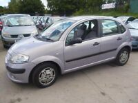 Citroen C3 LX,5 door hatchback,very clean tidy car,runs very well,new clutch fitted,cheap motoring