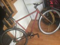 Create fixie bike