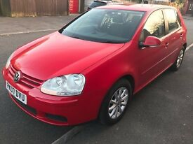 2007 VOLKSWAGEN GOLF 1.9 MATCH TDI WITH FULL DEALER HISOTRY AND 1 OWNER