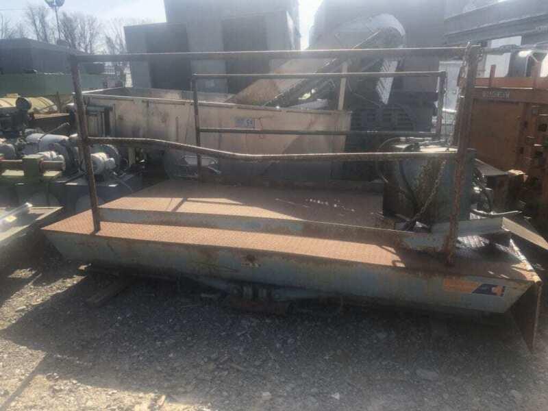 """Advance 4100 Recessed Dock Lift 120"""" x 72"""" 12,000 lb"""