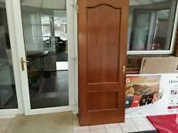 FREE MOHAGANY DOOR + FLUSH DOOR