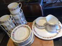 Fine China paragon 7 tea set