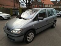 VAUXHALL ZAFIRA 1.6 CLUB 12 MONTHS MOT LOW MILEAGE 7 SEATS GREAT CAR