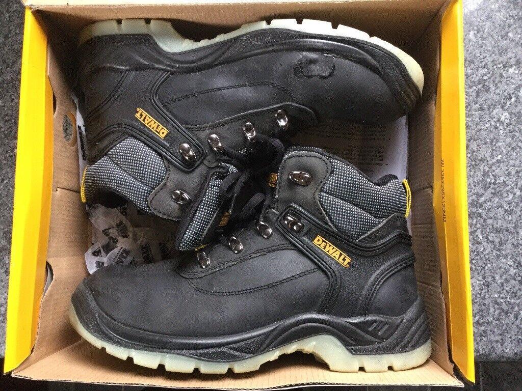 4397727bcf3 DeWALT Laser Safety Boots(Black) size 8 | in Kinross, Perth and Kinross |  Gumtree