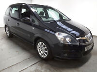 2007(57)VAUXHALL ZAFIRA 1.9 CDTi CLUB BLACK,7 SEATER,6 SPEED,LOW MILES,GREAT VALUE