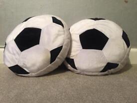Football Cushions x 3
