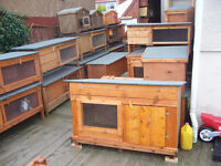 """dog kennel 24""""x 24""""robust ..from£35.00 worth viewing 7days"""