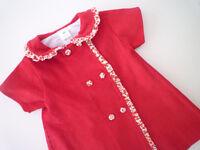 Cherry corduroy dress (6 months)