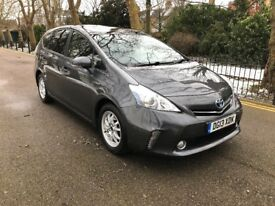 2013(13) TOYOTA PRIUS PLUS (7 SEATER)***ONE OWNER***UK MODEL HYBRID AUTO FSH CAN PCO zero road tax