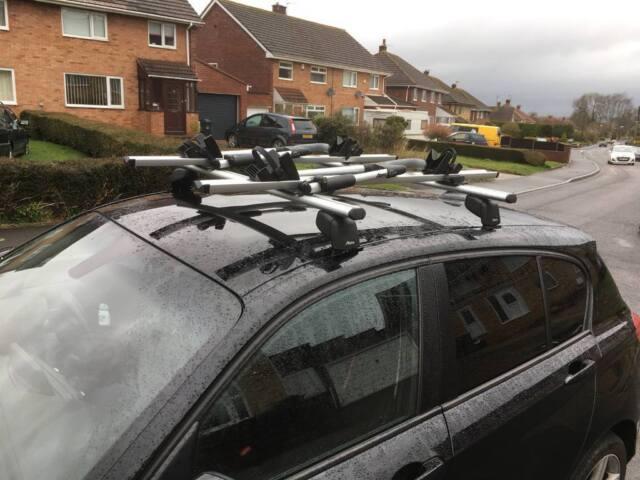 Bmw 1 3 Series Audi Roof Bars Cycle Carriers X2 In Bridgwater Somerset Gumtree