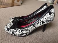 skull heels UK size 7