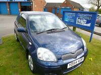 TIDY TOYOTA YARIS GOOD CONDITION NICE CAR MILAGE LOW FOR YEAR