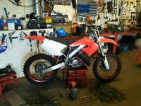2001 honda cr125 fully restored (swaps)