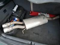 Skoda fabia miltek backbox exhaust
