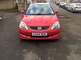 honda civic type r ep3 2004 6 speed 200 bhp red no colour fade