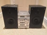 Sony CMT-CP500MD Hi-Fi with Kam Soundpack Speakers