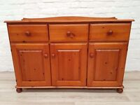 Pine Sideboard (DELIVERY AVAILABLE FOR THIS ITEM OF FURNITURE)