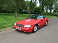 93 MERCEDES SL300 300SL AUTO AUTOMATIC CONVERTIBLE 110K LAST OWNED 4 YEARS 12 MOT £3495