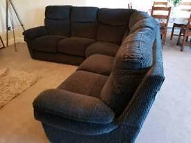 Lazy boy corner sofa and two seater sofa