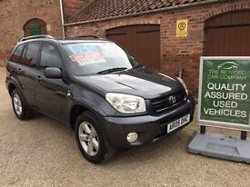 TOYOTA RAV-4 2.0 5 DOOR 4X4 XT-R, LOW MILEAGE, FULL LEATHER, FULL MOT, FROM THE RETFORD CAR COMPANY