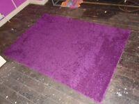 "rug purple 69""x 47"""