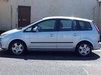 57 ford focus 1.6 c-max style 5 door mpv.petrol.manual.anti-lock brakes.