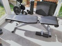 York 13-in-1 Weightlifting/workout bench