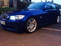 2007 BMW 325D M SPORT! 3.0L M54 ENGINE! LE MANS BLUE! FSH! SUPERB DRIVE!