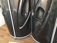2 x Sunquest Aurora Stand up Sunbed with Changing Rooms