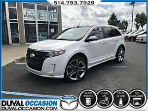 2013 Ford Edge Sport + AWD + CUIR + TOIT OUVRANT + NAVIGATION