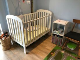 Baby Cot dropside. Anna east coast