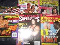 WRESTLING SUPERSTARS MAGAZINES X 6 FROM 1995 have others for sale