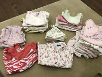 Newborn girl clothes bundle inc. +30 items