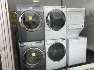ECONOPLUS LIQUIDATION SALE ON A  SELECTION OF FRONTLOAD STACKABLE WASHER DRYER SETS FROM  999.99 $ TAXES INCLUDED